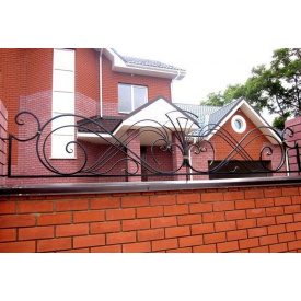 Заборчик кованый декоративный металлический Legran
