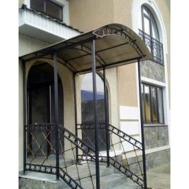 Металлоконструкция фасадного входа для коммерческой недвижимости в новостройках Legran