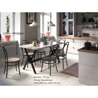 Кухонний стіл Вектра Тенеро 1600х800 мм нерозкладний