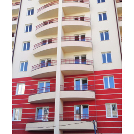 Коване балконне огородження з металу для новобудов Legran