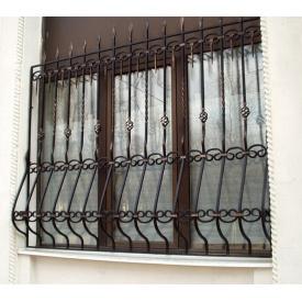 Кованые решетки на окно 1300х1400 мм