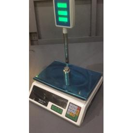 Ваги торгові електронні зі стійкою 40 кг