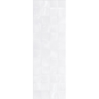 Керамическая плитка SIMPLE ART WHITE GLOSSY STRUCTURE CUBES 20x60