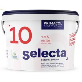 Краска интерьерная полуглянцевая Primacol Selecta 10 10л