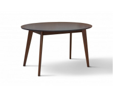 Дерев`яний овальний стіл Космо Мікс 1370х900 мм венге