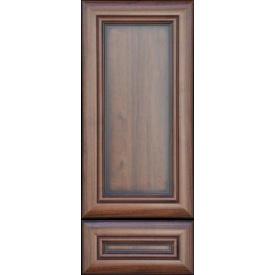 Рамковий мдф фасад лакований з патиною Класік Горіх