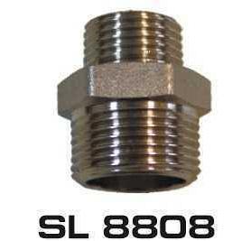 """Ниппель SELBA 3/4""""x1/2"""" SL8808 ЗЗ"""