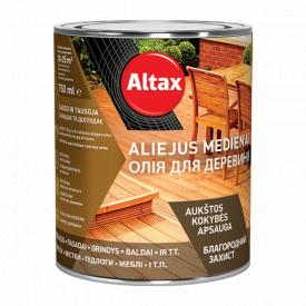Олія для деревини Altax сірий 0,75 л