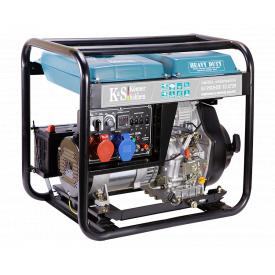 Генератор дизельный Konner&Sohnen Heavy Duty KS 9102HDE-1/3 ATSR (Euro II) (7.5 кВт, 3ф~)