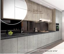 Кухня Модерн Дольче Віта 2,6 м дуб ендгрейн моноліт