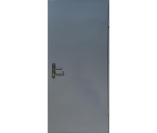 Вхідні двері RAL7024 Технічні 2 листи сірі