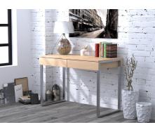 Письменный стол L-11 Loft-design 110х550х750 мм светлый
