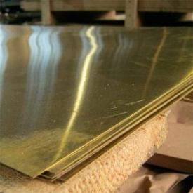 Лист латунный 12х600х1500 мм Л63