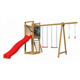 Дитячий дерев`яний майданчик SportBaby 4