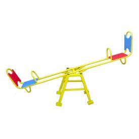 Металлические детские качели-балансир Dali 703/4 2200х640 мм со спинкой
