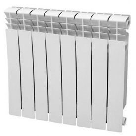 Радиатор биметаллический Santorini 500x80 мм