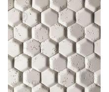 Гипсовая плитка Соты -1 белый