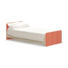 Дитяче ліжко Сімба 900 950х670х2032 мм береза / зелений Меблі-Сервіс