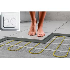 Нагревательный мат двухжильный под плитку для электрического теплого пола