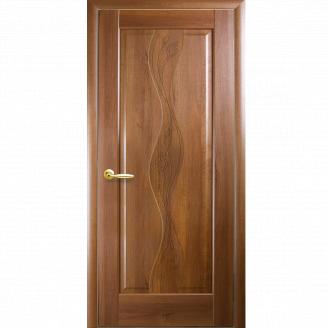 Межкомнатная дверь, NS Волна + фреза, Новый стиль, Маэстра