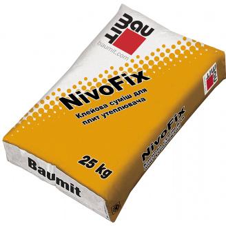 Клей для утеплювача приклейка Baumit NivoFix - 25кг