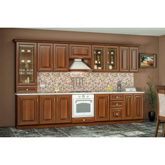 Кухня Роял 2м со столешницей орех Мебель-Сервис