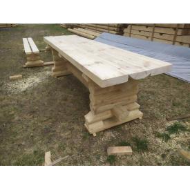 Комплект стіл і дві лавки 3 м