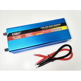 Преобразователь с чистой синусоидой AC/DC 12v 1200W
