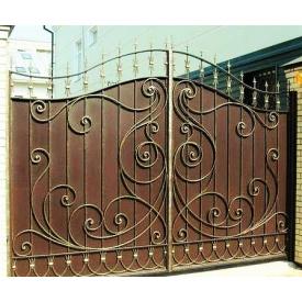 Ворота кованые закрытые Б0042пф Legran