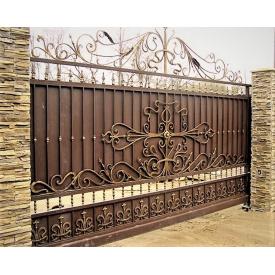 Ворота кованые закрытые Б0036зк Legran
