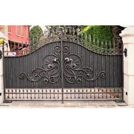 Ворота кованые закрытые Б0054зк Legran