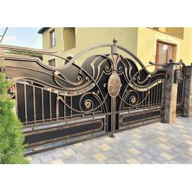 Ворота ковані Б0034зк Legran