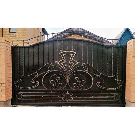 Ворота кованые закрытые Б0041зк Legran