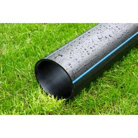 Труба для воды 140 мм Планета Пластик SDR 17 полиэтиленовая для холодного водоснабжения