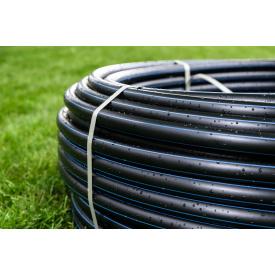 Труба для води 25 мм Планета Пластик SDR 13,6 поліетиленова для холодного водопостачання