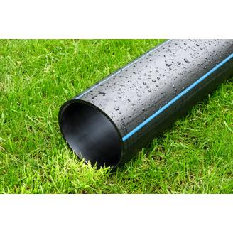 Труба для води 140 мм Планета Пластик SDR 17 поліетиленова для холодного водопостачання