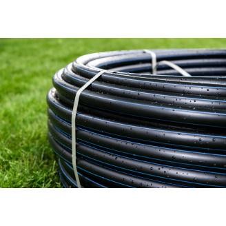 Труба для води 25 мм Планета Пластик SDR 11 поліетиленова для холодного водопостачання