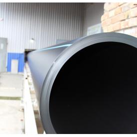 Труба для воды 630 мм Планета Пластик SDR 17 полиэтиленовая для холодного водоснабжения