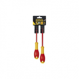 Набор отверток электрика STANLEY FatMax VDE 1000V, 2 шт (FMHT0-62648)
