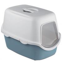 Туалет Stefanplast Cathy 56x40x40 см Блакитно-сталевий
