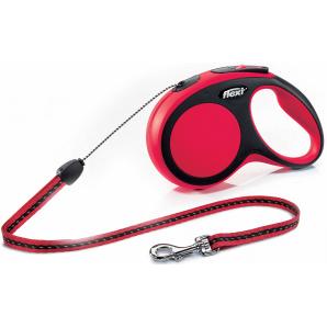 Поводок-рулетка Flexi New Comfort S 8 м Красный