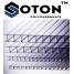 Сотовый поликарбонат ТМ SOTON 10x2100х6000 мм прозрачный