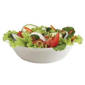 Скляний салатник Cok Elba Cegeco круглий 23 см