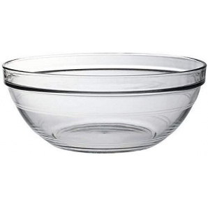 Скляний салатник Duralex Lys круглий 26 см 3450 мл (2029AF06)