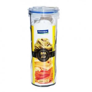 Скляний контейнер-банка Glasslock з кришкою для зберігання спагетті та сипучих продуктів 1600 мл