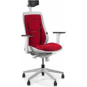 Кресло Barsky Freelance White/Red BFW-04