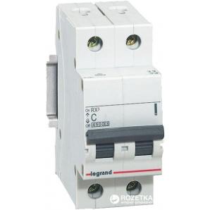 Автоматический выключатель Legrand C32 2Р 4,5 kA