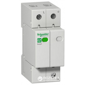УЗИП Schneider Electric 1 Р+N 20 кА 10 кА 1,3 кВ EZ9