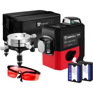 Уровень лазерный Deko 3D LL12-HVRL 12 линий