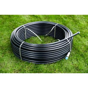Труба для воды 40 мм Планета Пластик SDR 13,6 полиэтиленовая для холодного водоснабжения